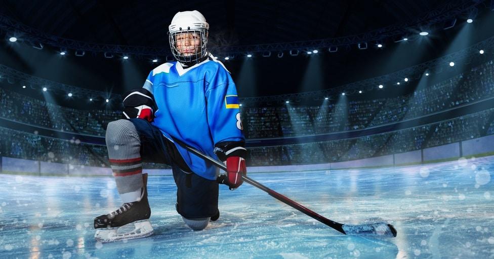 dětská hokejová hůl