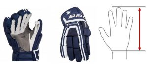 velikost hokejových rukavic návod