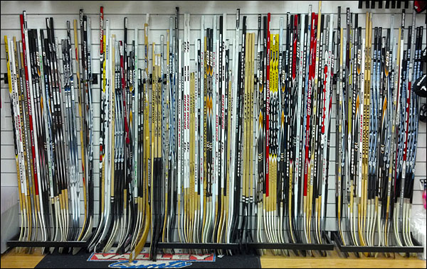 Jak vybrat hokejku