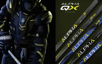 Nová kolekce hokejové výstroje Warrior Alpha