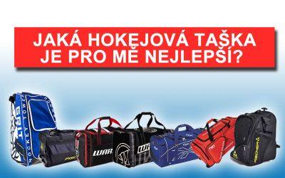 Jaká hokejová taška je pro mě nejvhodnější?