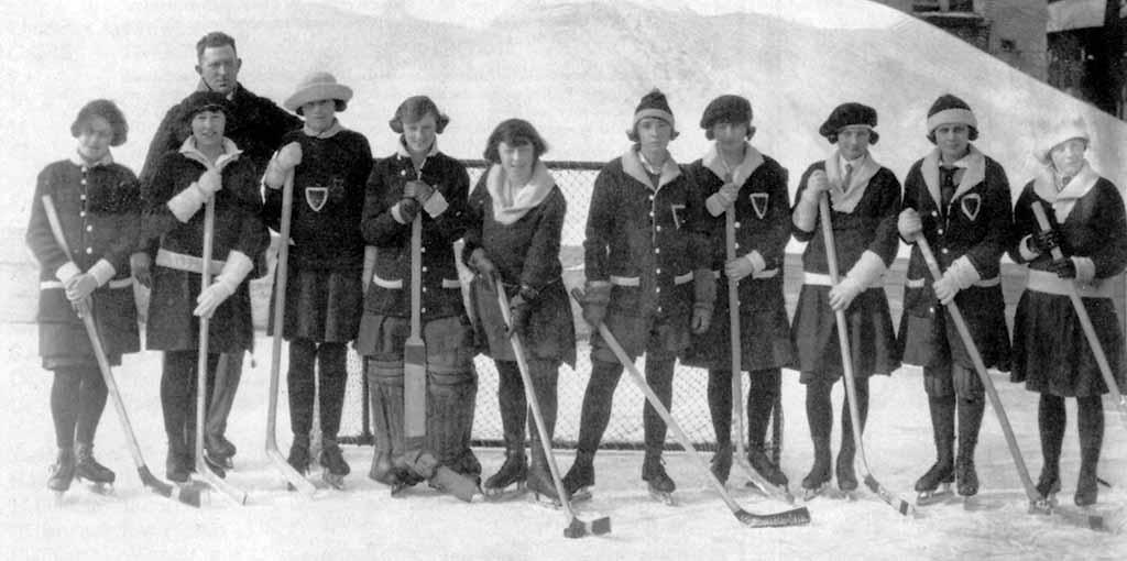 Historie ledního hokeje žen