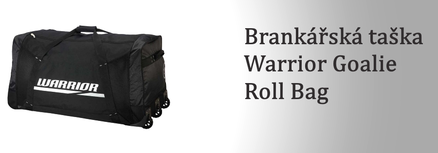 Brankářská taška Warrior Goalie Roll Bag