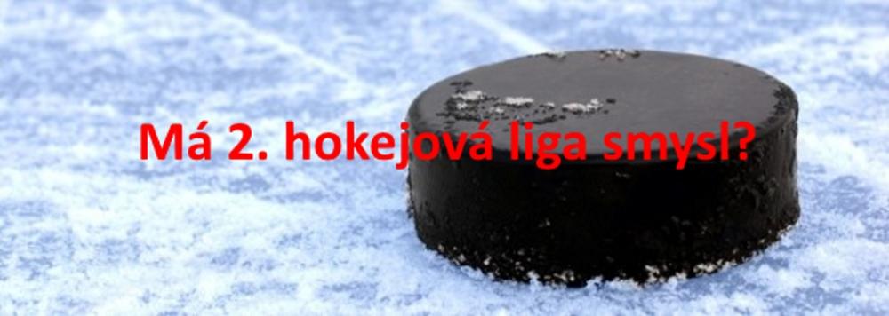 Má 2.hokejová liga smysl? Nemá.