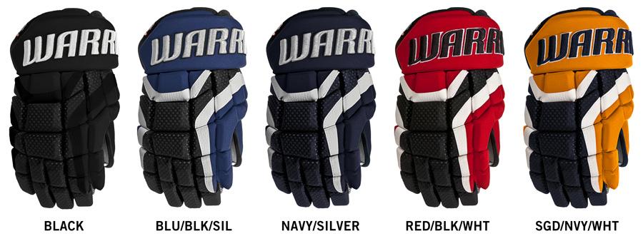 Hokejové rukavice Warrior Covert DT1