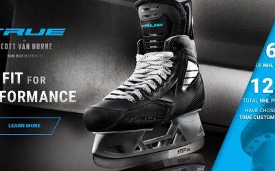 TRUE HOCKEY představujeme TRUE Pro Custom hokejové brusle