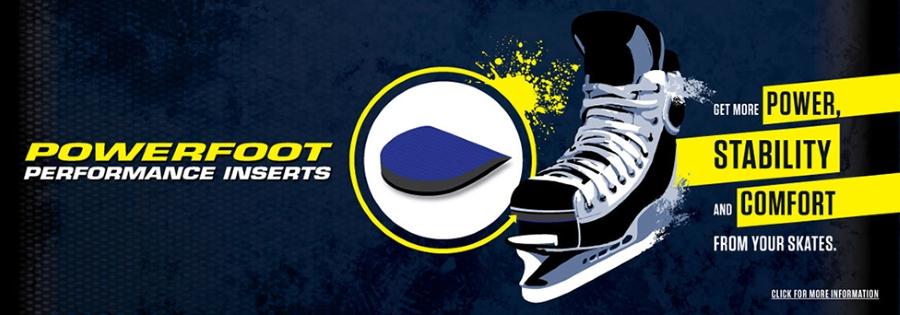 Powerfoot – hokejová vložka do bruslí