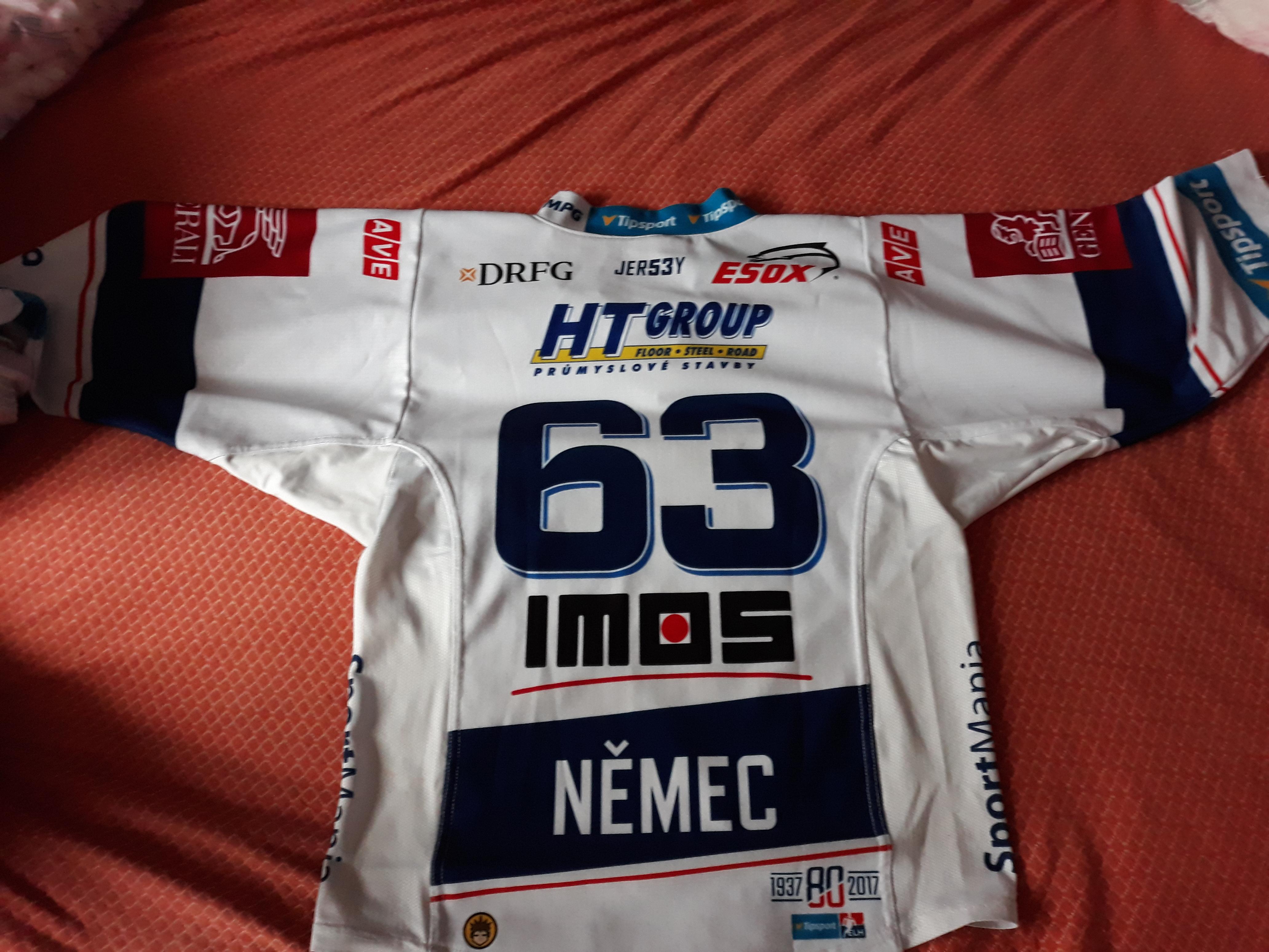 Dětský hokejový dres HC Kometa Brno