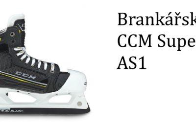 Brankářské brusle CCM Super Tacks AS1