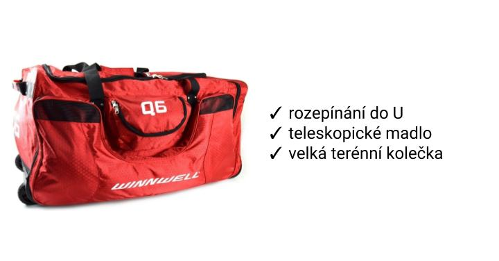 Taška Winnwell Q9 Wheel Bag
