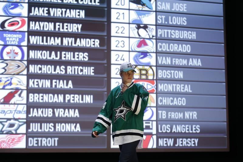 draft hokejových nadějí