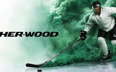 Hokejky Sher-wood project