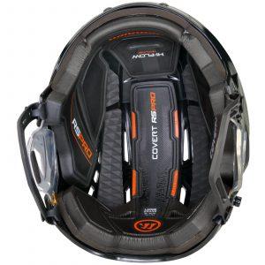helma Warrior pro rs vnitřek