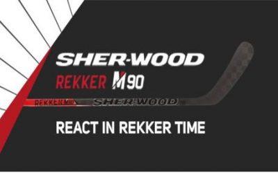 SHER-WOOD představil novou hokejku Rekker M90