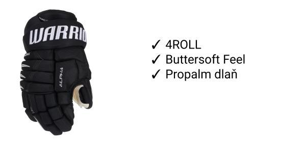 Rukavice Warrior Alpha DX PRO