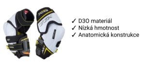 Chrániče loktů CCM Super Tacks AS1