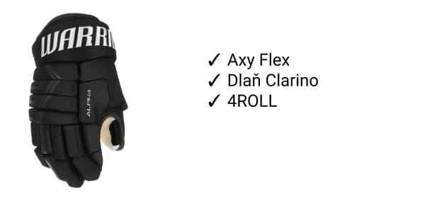 Rukavice Warrior Alpha DX4