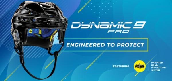 TRUE Hockey představil novou helmu Dynamic 9 Pro