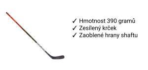 Kompozitová hokejka Bauer Vapor Flylite