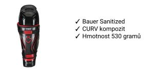 Chrániče holení Bauer Vapor 1X Lite