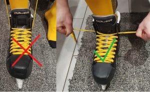 jak utahovat hokejové brusle