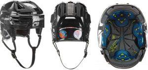 složení hokejové helmy