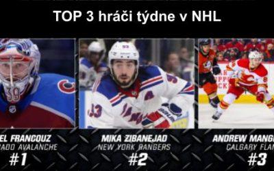 TOP 3 hráči týdne v NHL – 8/2020