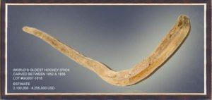 nejstarší hokejka na světě
