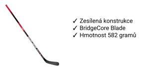 Hokejka Bauer NSX recenze