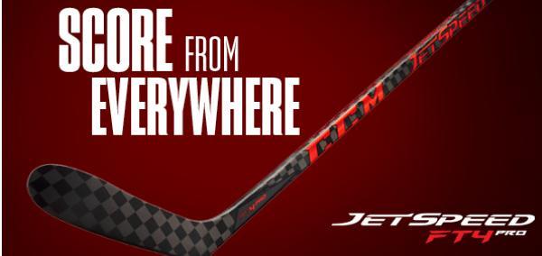 Hokejka CCM JetSpeed FT4 PRO – tajemství úspěchu