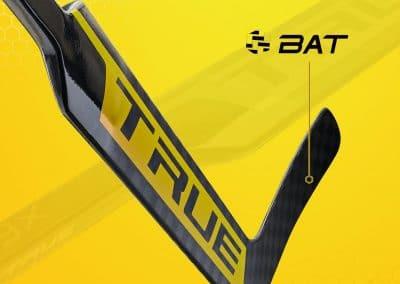 brankářská hokejka True Catalyst 9X - BAT technologie