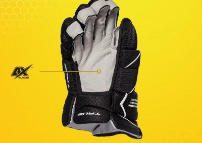 rukavice True Catalyst X9 - dlaň